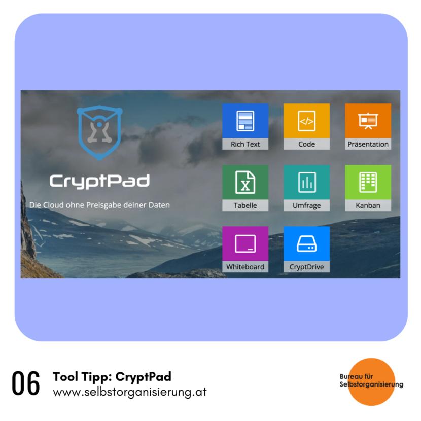Rainer Hackauf – ToolTipp: CryptPad