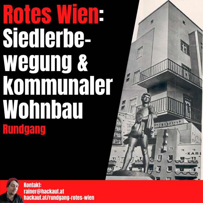 Rainer Hackauf: Rundgang Rotes Wien