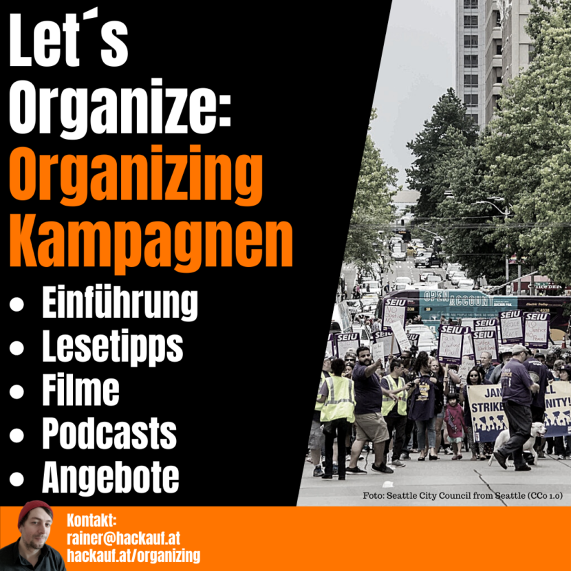 Rainer Hackauf: Training Organizing